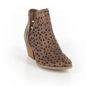 Coolway Laser Cut Ankle Boots